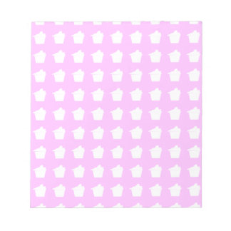 Delicious Cute Pink Cupcake Notepad