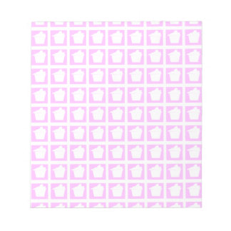 Delicious Cute Pink Cupcake Notepads
