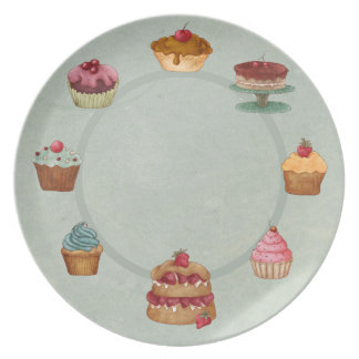 Delicious Desserts Party Plates