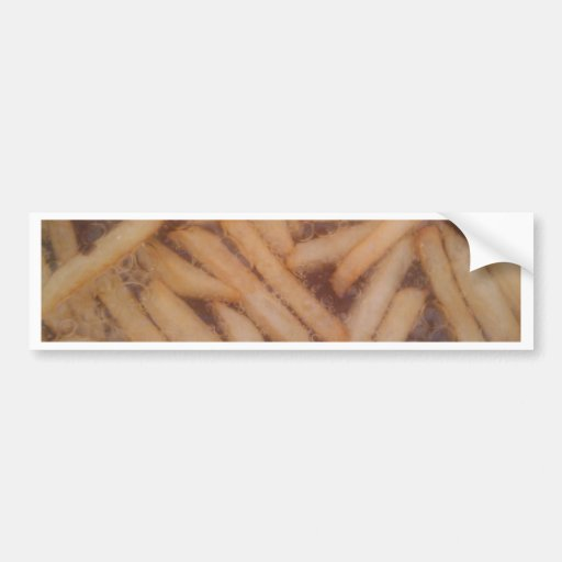 Delicious French Fries Bumper Stickers