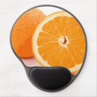 Delicious Juicy Orange Slices Gel Mouse Pad
