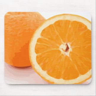 Delicious Juicy Orange Slices Mouse Pad