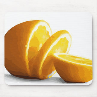 Delicious Juicy Orange Slices Mousepads
