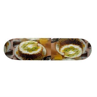 Delicious Kiwi pie Skate Board