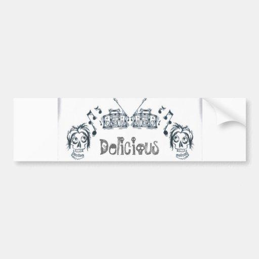 Delicious Love Bumper Stickers