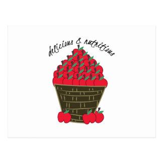 Delicious & Nutritions Postcard