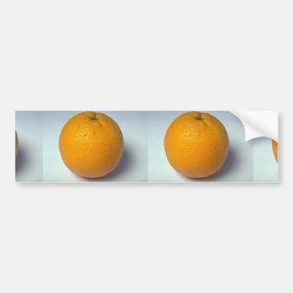Delicious Orange Bumper Stickers