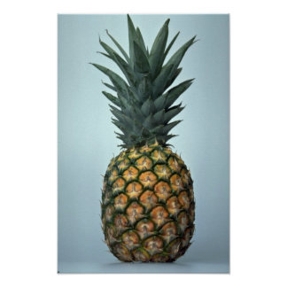 Delicious Pineapple Poster