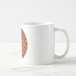 Delicious Pizza Pie Basic White Mug