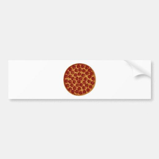 Delicious Pizza Pie Bumper Sticker