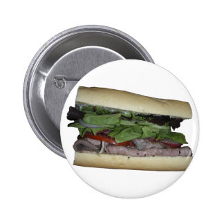 Delicious Sandwich! Bite me! 6 Cm Round Badge