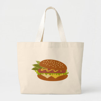 Delicious Sandwich Jumbo Tote Bag