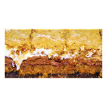 Delicious Smore Brownies Personalized Photo Card