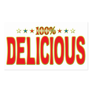 Delicious Star Tag Business Card Template