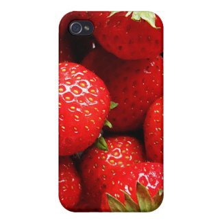 Delicious Strawberries Covers For iPhone 4