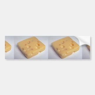 Delicious Swiss cheese Bumper Sticker