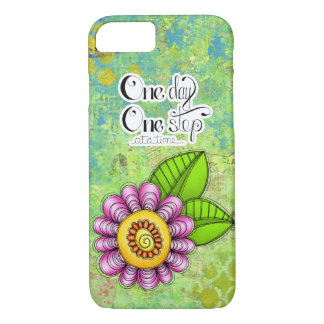 Delight Positive Thought Doodle Flower iPhone 7 iPhone 8/7 Case