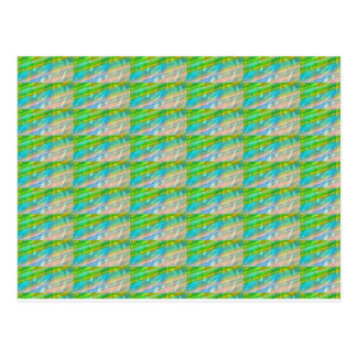 DELIGHT Sparkle Green Dream Ideal GIFTS FUN Postcard