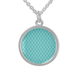 Delight Sparkling Cute Funny Round Pendant Necklace