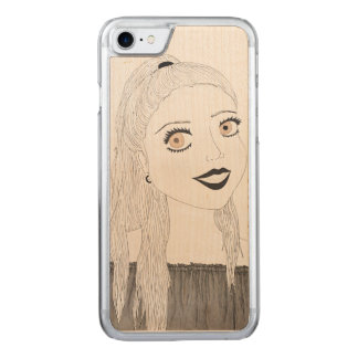 Delighted Wooden Phone Case