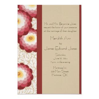 Delightful Deco Mums Wedding Invitations