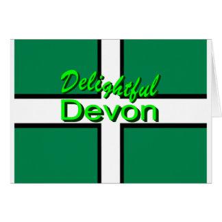 Delightful Devon Greeting Card