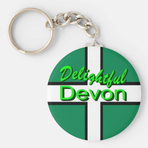 Delightful Devon Keychains