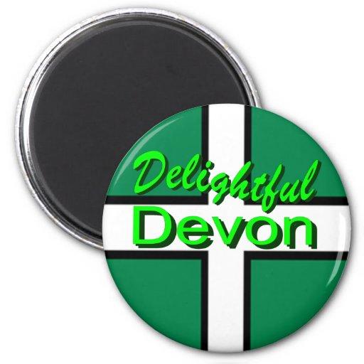Delightful Devon Fridge Magnets