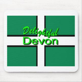 Delightful Devon Mouse Pads