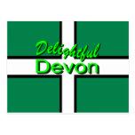 Delightful Devon Postcard