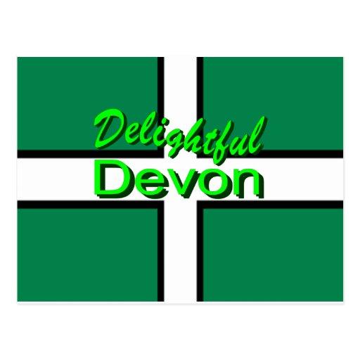 Delightful Devon Postcards