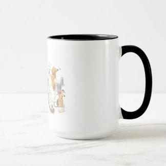 delightful dog mug