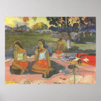 Delightful Drowsiness, Gauguin, Impressionism Art Posters