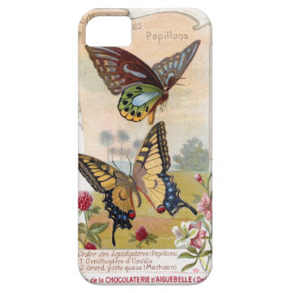Delightful French Chocolate Label Barely There iPhone 5 Case