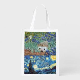 Delightful Hedgehog Shopping Bag