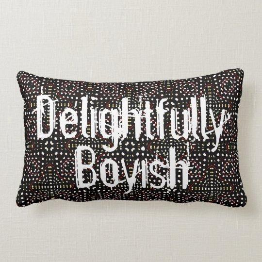 Delightfully Boyish Lumbar Cushion