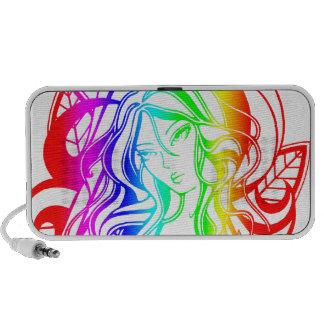 Deliver Me (Rainbow) Doodle Speaker System