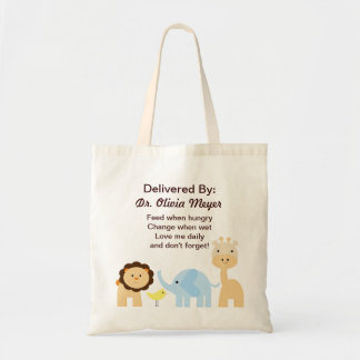 Delivered by Doctor New Arrival Baby Bag