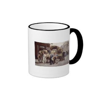 Delivering Flour 1885 Coffee Mugs