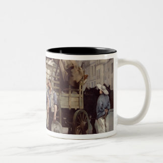 Delivering Flour, 1885 Two-Tone Coffee Mug