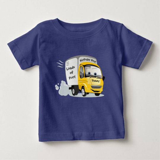"""Delivering """"Loads of Fun"""" Birthday Baby T-Shirt"""