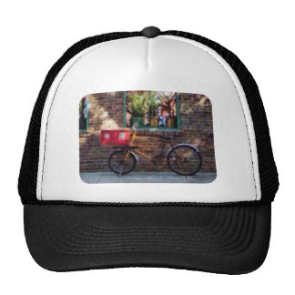 Delivery Bicycle Greenwich Village Mesh Hat