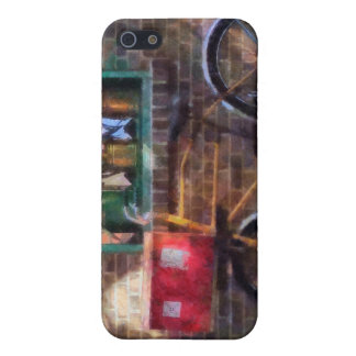 Delivery Bicycle Greenwich Village iPhone 5 Covers