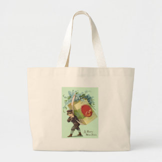 Delivery Boy Forget-Me-Nots Seal Package Jumbo Tote Bag