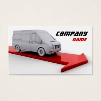 Delivery Company Business Card