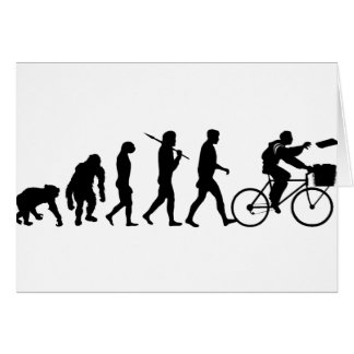Delivery men and newspaper delivery boys & girls greeting card