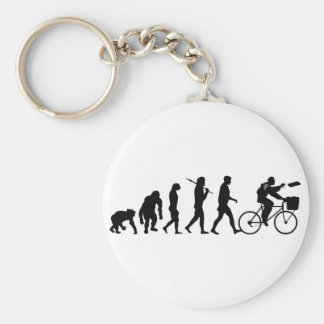 Delivery men and newspaper delivery boys & girls key chain