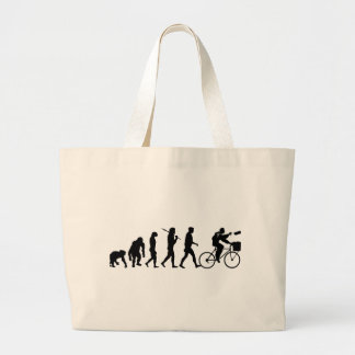 Delivery men and newspaper delivery boys & girls large tote bag