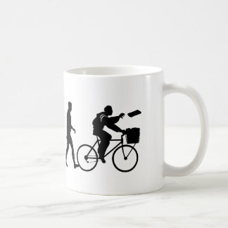 Delivery men and newspaper delivery boys & girls coffee mugs