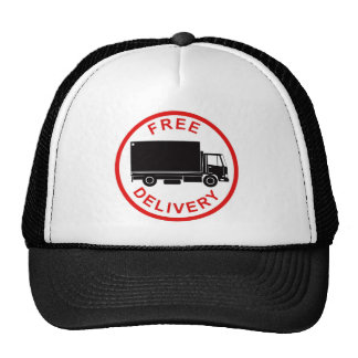 delivery moving truck van lorry free delivery hat